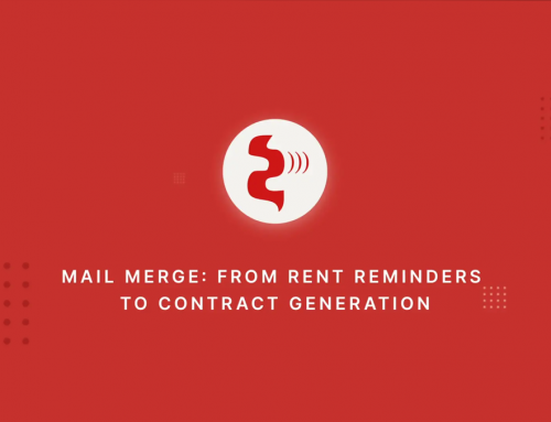 Mail Merge: From Rent Reminders to Contract generation